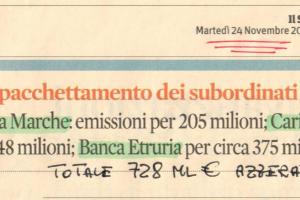 Mil Euro azzerati per banca - Nov 2015.jpg